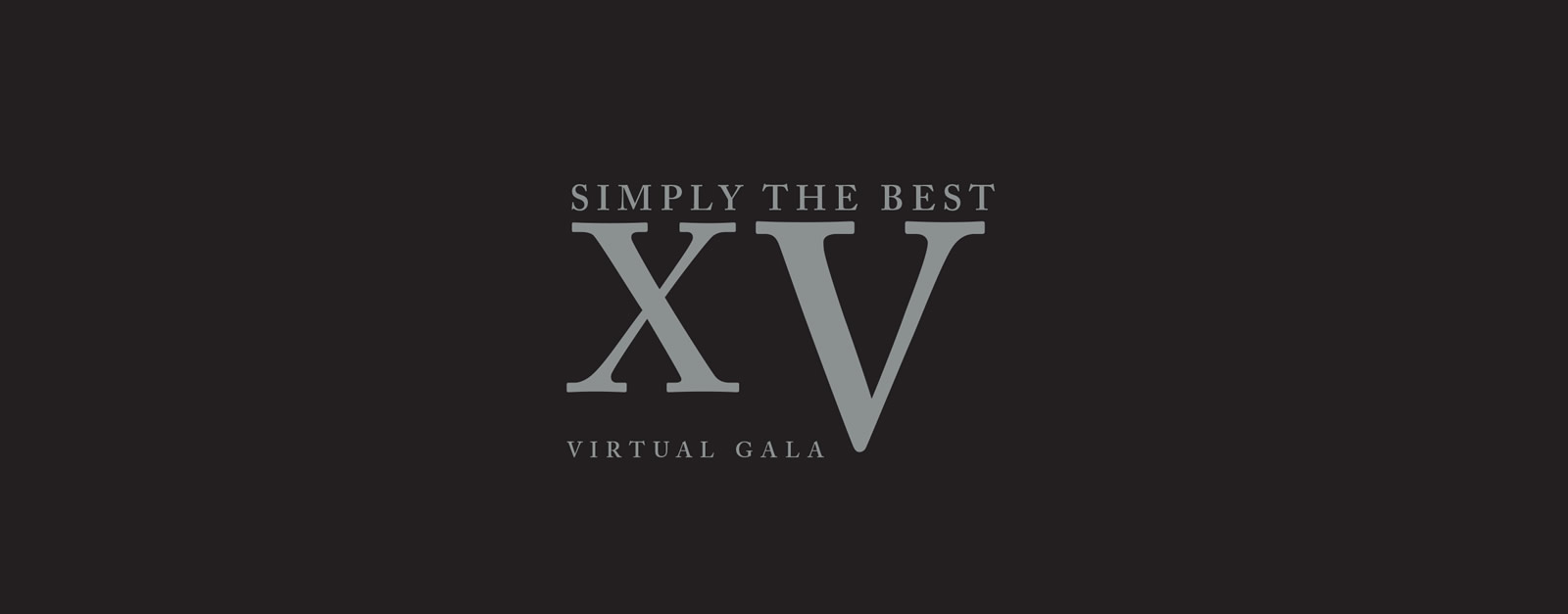 Simply the Best 2020 XV Dinner and Gala