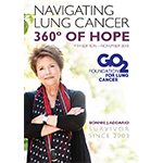 Click here for more information about Navigating Lung Cancer: 360° of HOPE-Patient Education Handbook