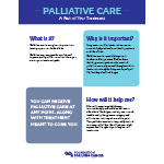Click here for more information about Palliative Care 1-pager