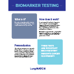 Click here for more information about Biomarker Testing 1-pager
